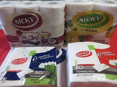 Carta Nicky, la nostra alleata in cucina!