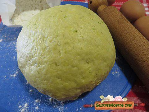 Pasta fresca con asparagi
