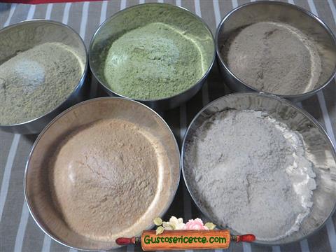 farine senza glutine preparate in casa