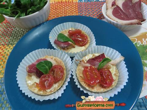 Cheesecake salato petto oca affumicato