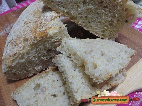 Pane senza impasto sfrizzoli di maiale