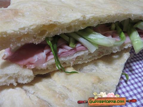 Pizza mortadella puntarelle di Bonci