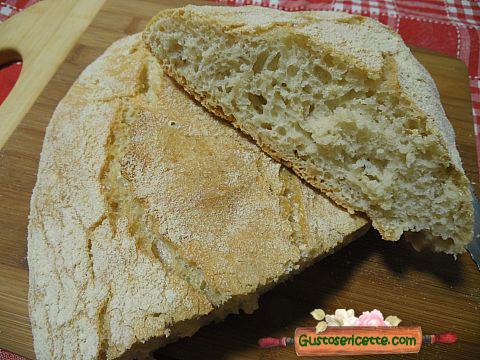 Pane senza impasto brodo di carne