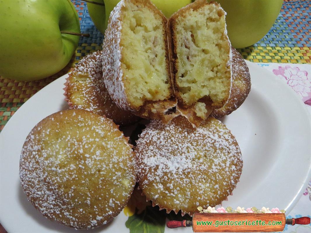 Muffin mele e mangostano