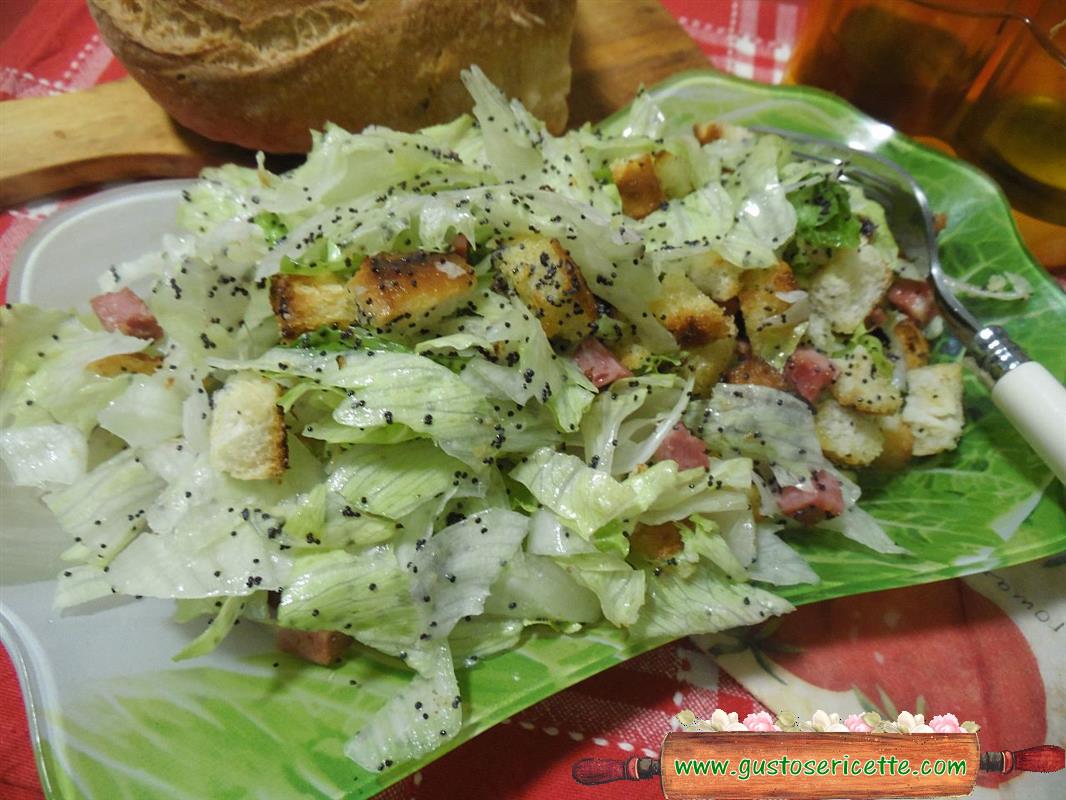Insalata croccante con mortadella di cinghiale gustose for Ricette di cucina particolari