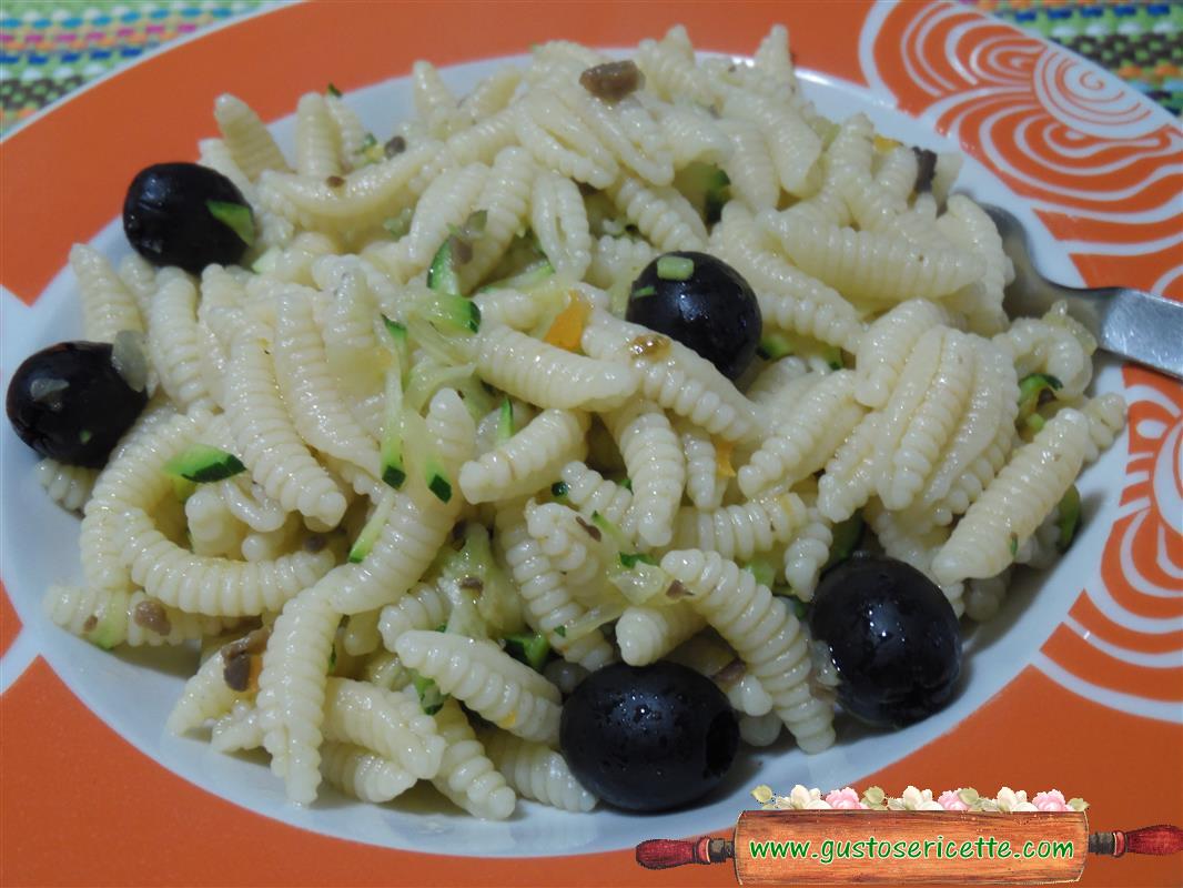 Malloreddus con zucchine e salsa tartufata