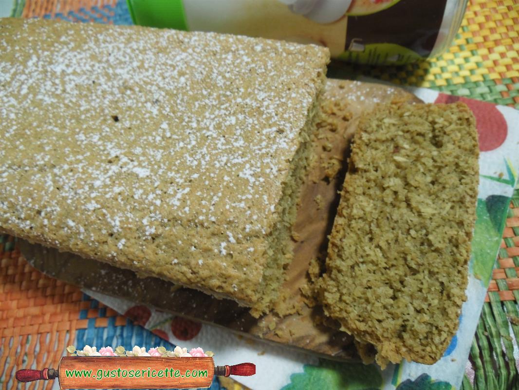 Plumcake light al cocco e farina di avena