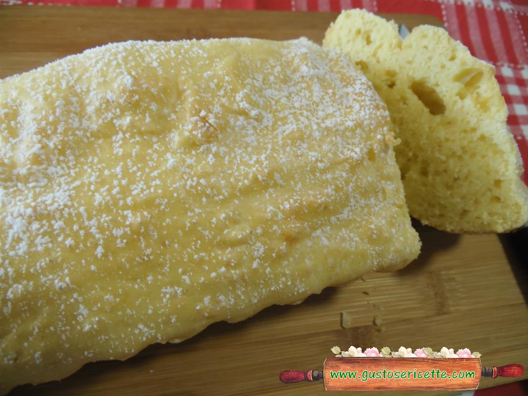 Plumcake al limone senza glutine e light