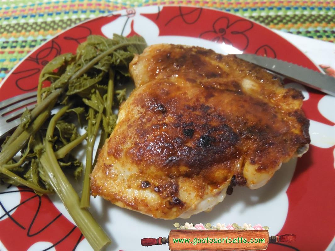 Pollo alla paprika light alla piastra